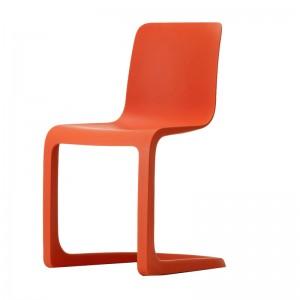 silla EVO C cantilever Vitra rojo amapola