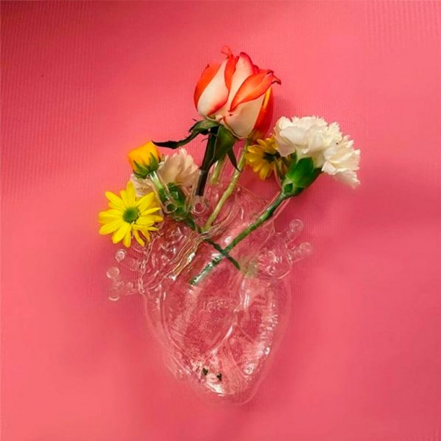 Love in Bloom Glass Seletti