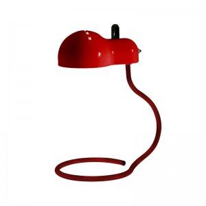 Lámpara Minitopo rojo icónico Stilnovo