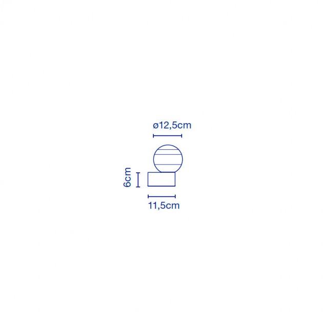medidas aplique Dipping Light A1-13 Marset