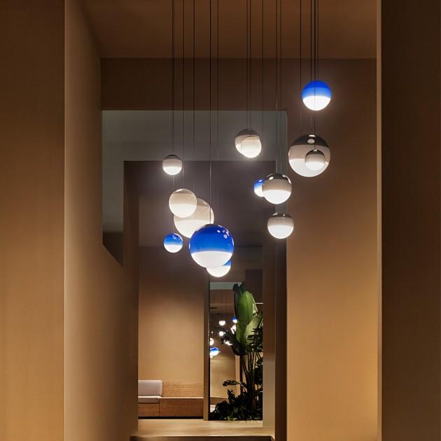 pasillo lámparas suspensión Dipping light Marset