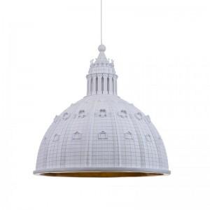 lámpara suspensión Cupolone Quarantacinque white