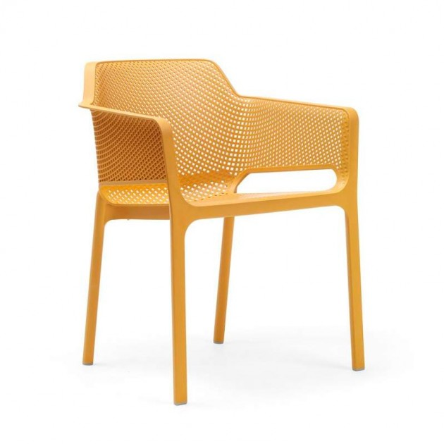 silla Net de exterior senape Nardi