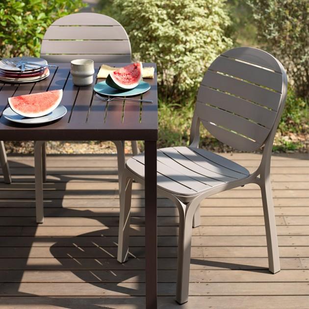 exterior pack mesa cube y sillas Erica de exterior Nardi