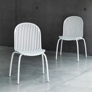 sillas de exterior Ninfea Nardi blanco