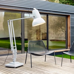Lámpara Original 1227 Giant Outdoor Floor Lamp Anglepoise blanco alpino