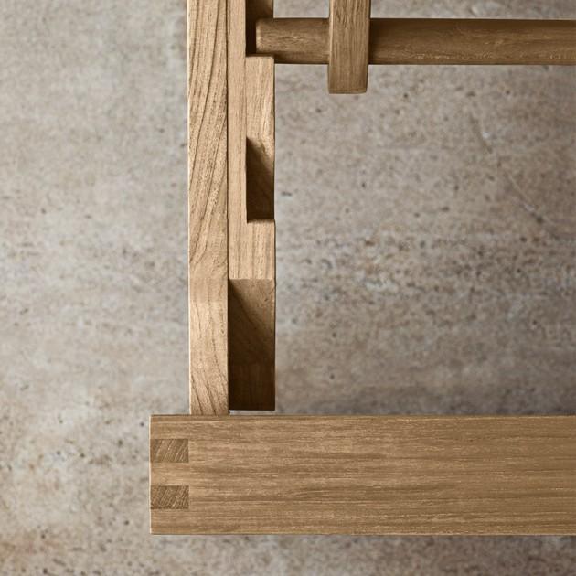 detalle reclinable Tumbona BK14 Carl Hansen