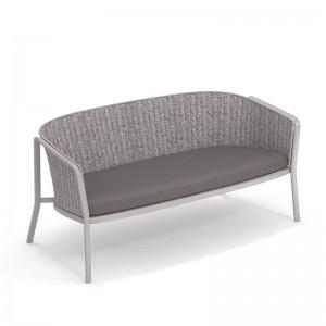 sofa 2 plazas Carousel Emu gris y cemento