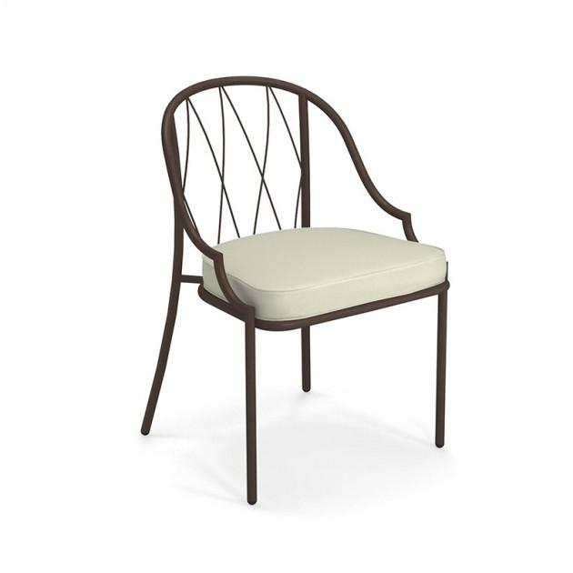 silla Como de exterior Emu hierro antiguo