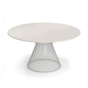 mesa comedor Como Emu blanco opaco