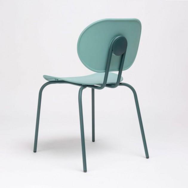 perfil silla Hari polipropileno Ondarreta azul Cantábrico