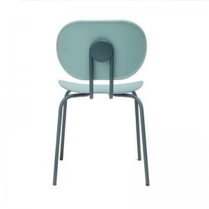 respaldo silla Hari polipropileno Ondarreta azul Cantábrico