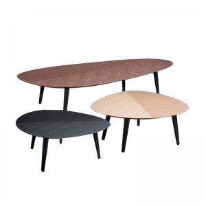 mesas auxiliares Tweed mini Zanotta