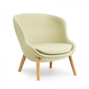 HYG Lounge Chair Low Oak - Normann Copenhagen