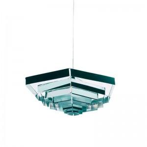 Lámpara Esagonale aluminio Danese Milano