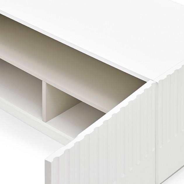 Mueble TV Doric Blanco de Teulat en Moises Showroom