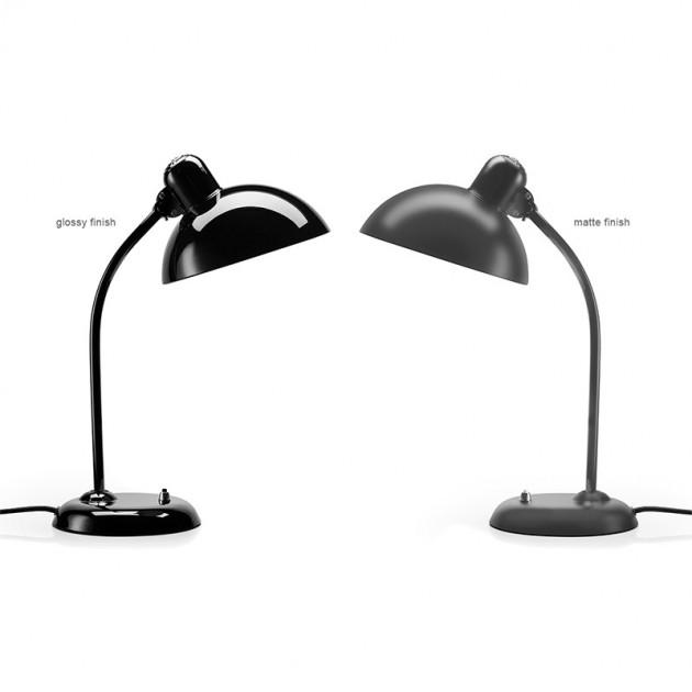 Lámparas de mesa Kaiser color negro y negro mate de Fritz Hansen