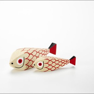 Wooden Doll Mother Fish & Child - Vitra