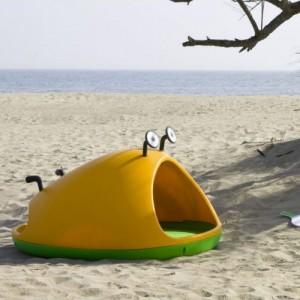 Nido de Magis en la playa