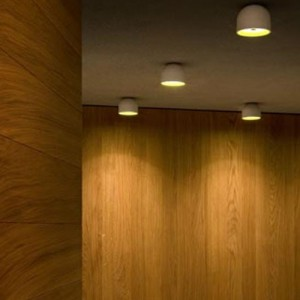 Lámpara Wan C / W aplique Flos