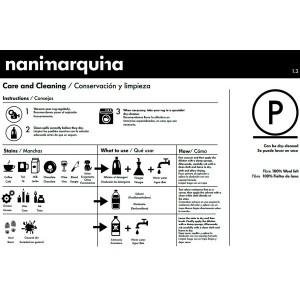 cuidados Alfombra Kilim Lattice 2 Nanimarquina