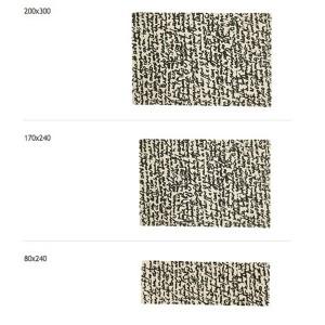 dimensiones alfombra Manuscrit Nanimarquina