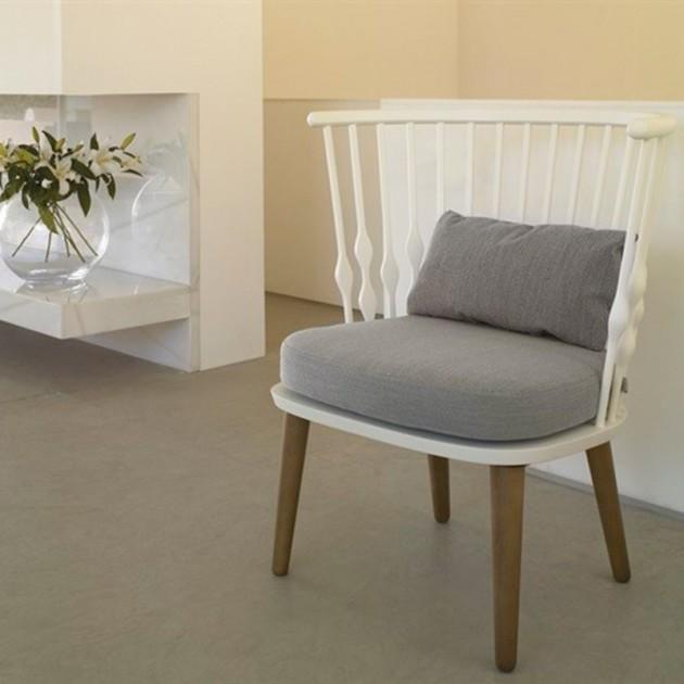 ambiente salón con  butaca Nub bu1437 Andreu World