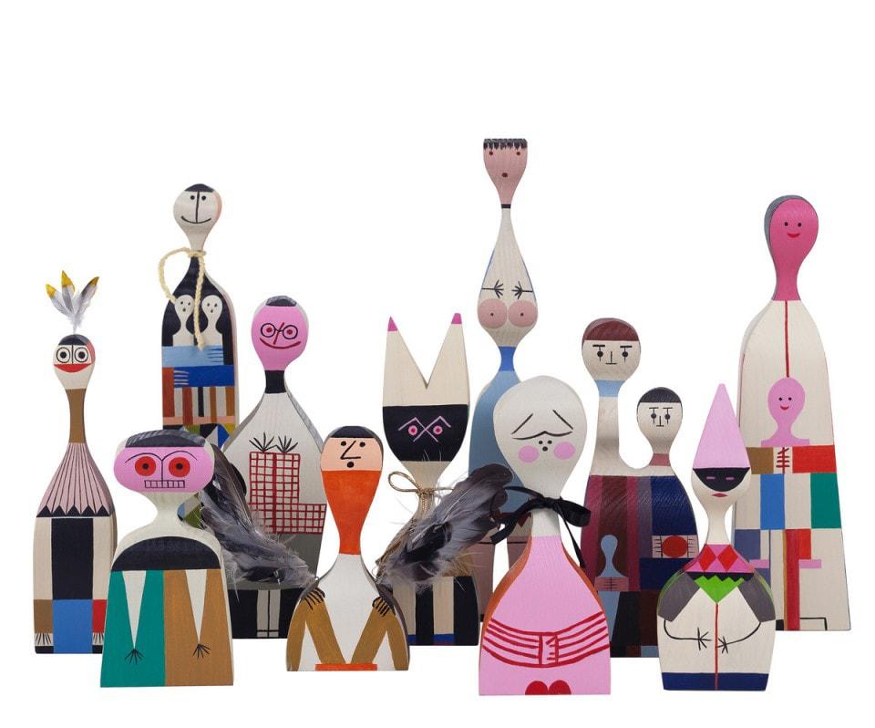 Colección de Wooden Dolls